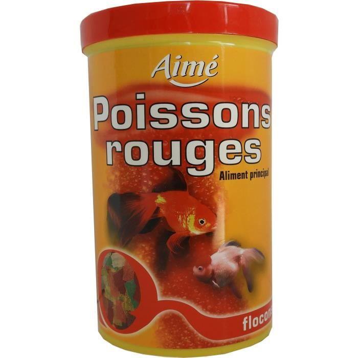 Aime Aliment Principal En Flocons - Pour Poisson Rouge 1l