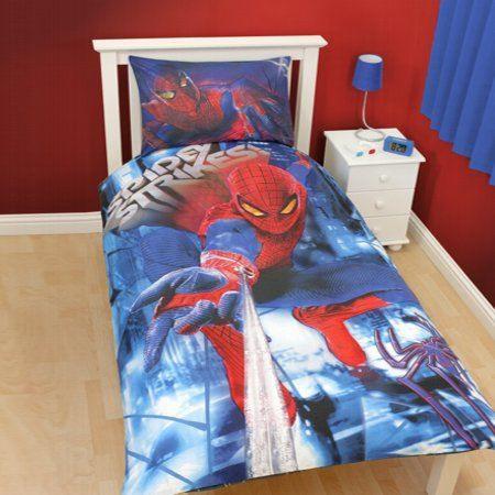 housse de couette spider-man the amazing - achat / vente housse de