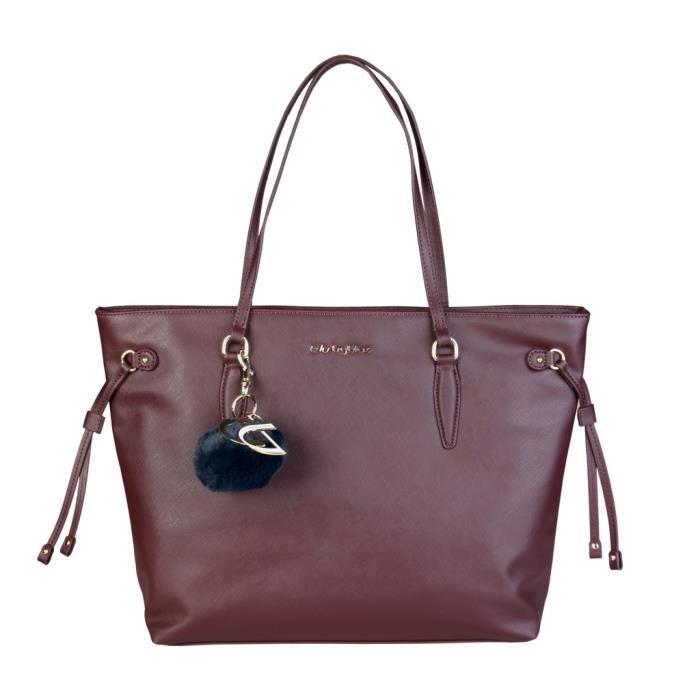 Byblos - Sac porté épaule pour femme (NILDE_675842_017_BORDEAUX) - Rouge