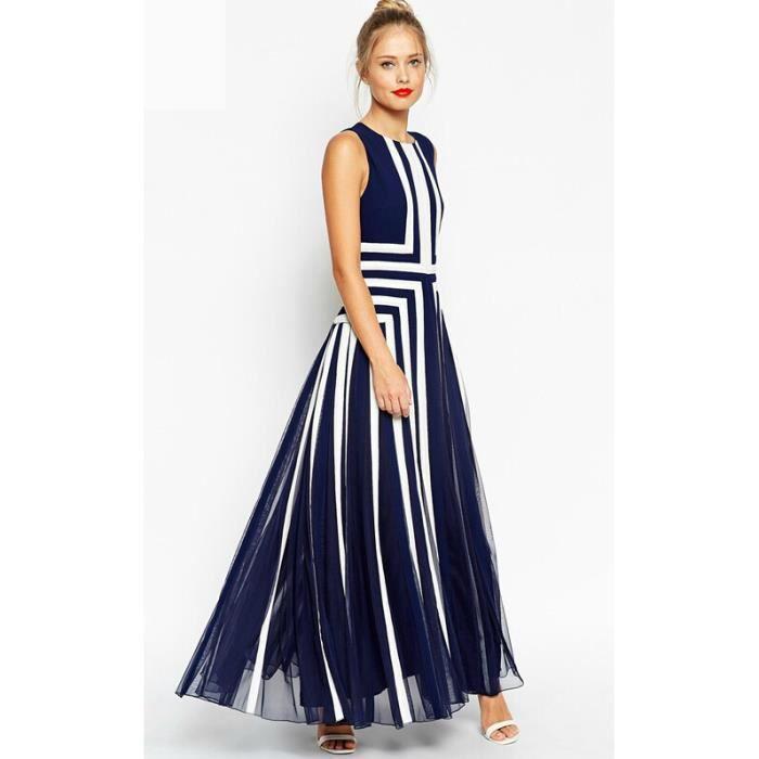 grand tutu ourlet robe longue femme gaze patchw bleu. Black Bedroom Furniture Sets. Home Design Ideas