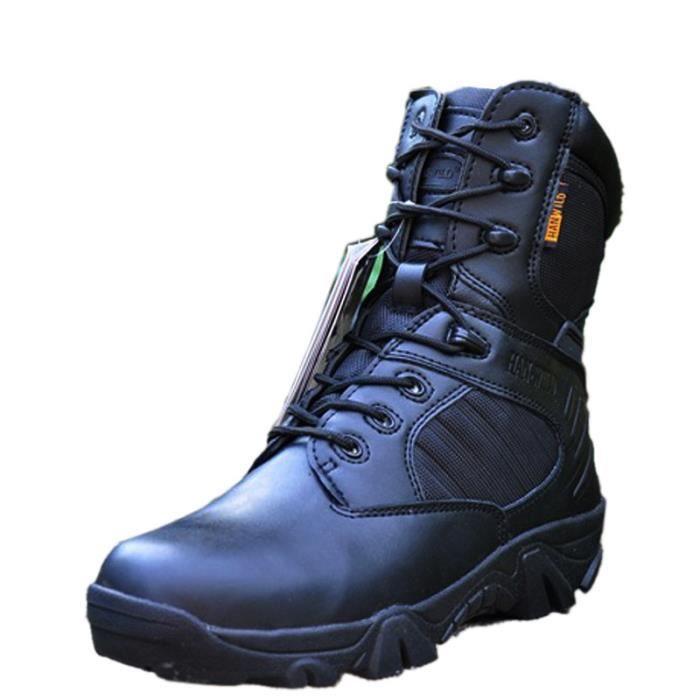 Tactique Hommes Bottes Armée plein air Sports Camping Randonnée Travail Chaussures  kaki - Achat / Vente bottine  - Soldes* dès le 27 juin ! Cdiscount