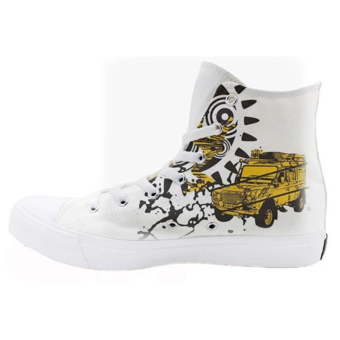 Neutre Sneakers Athlétique Automne Hiver Britishmatte Chaussures Haut Dessus Baskets Bottes hommes Casual de Grande Taille