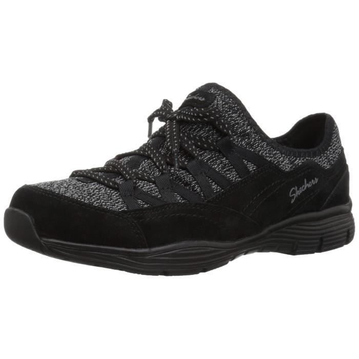 40 Bow Skechers Slip Zip On Sneaker Fit Taille Line Seager K80xs xshQrtdC