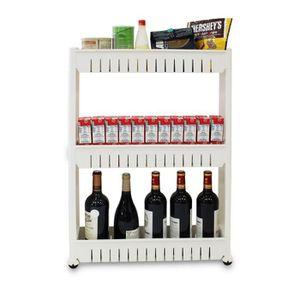 Rangement produit menager achat vente rangement - Etagere a roulettes pour cuisine ...