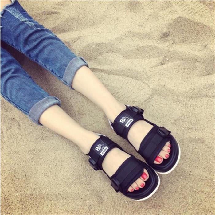 Sandale Femmes Marque De Luxe Mode Super Meilleure Durable Plage Classique Femme Sandales Poids Léger ete Grande