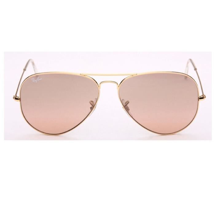 58mm Classic Ray Ban Aviator Lunette de soleil RB3025 001/3E