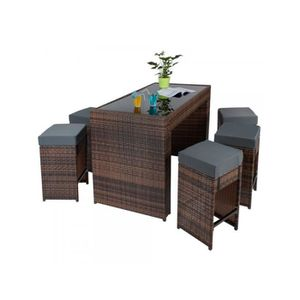 tabouret rotin achat vente tabouret rotin pas cher. Black Bedroom Furniture Sets. Home Design Ideas