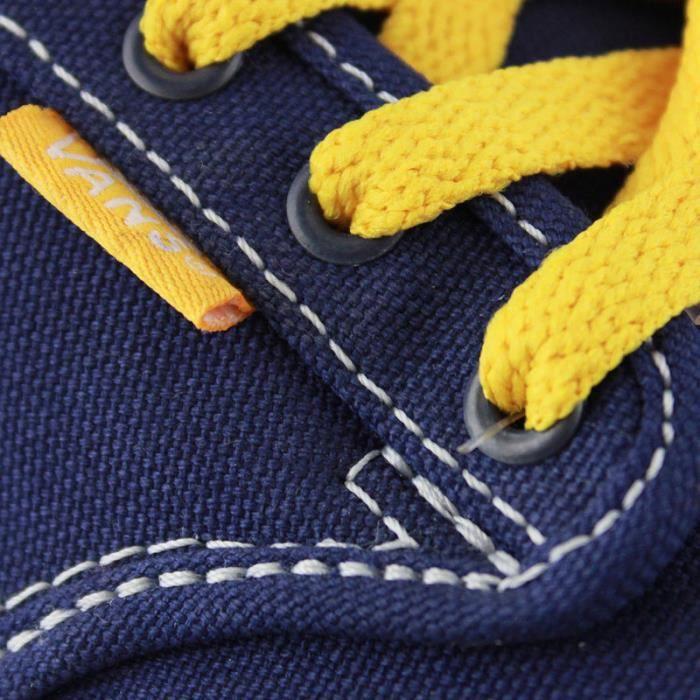 Basket Vans atwood varsity blue yellow kids