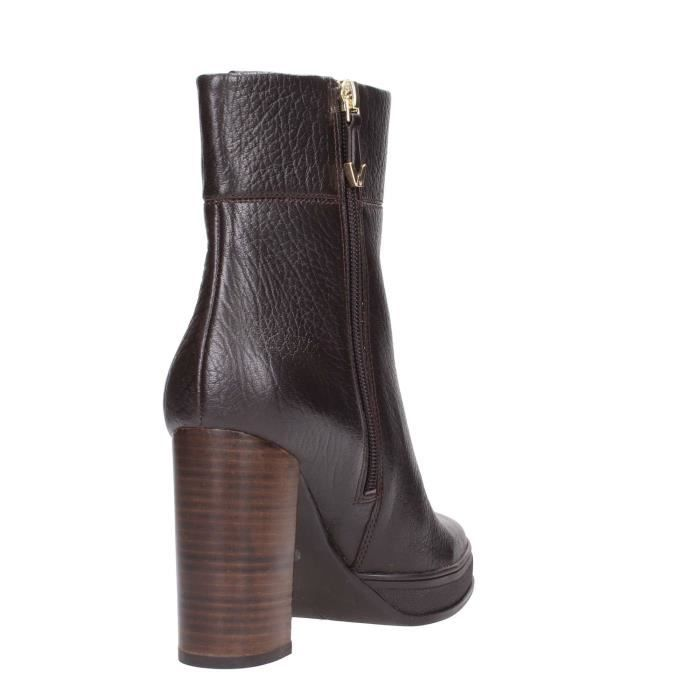 What For Ankle Boots Femme Light Brown, 38