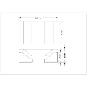 TABLE BASSE TABLE BASSE DESIGN NOIRE PIEDS CHROMÉ ULYS
