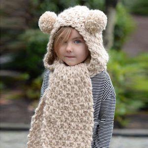 4f1e6dd053c CHAPEAU - BOB Bonnet double boule en laine d hiver Bonnets pour