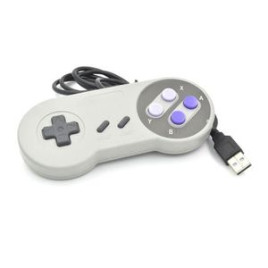 JOYSTICK - MANETTE Snes Contrôleur USB Famicom Joypad classique pour