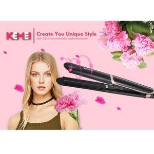 FER A LISSER MIDE™ Lisseur cheveux infrarouge Fer à lisser en c