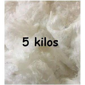 OUATE Ouate 5 Kilos pour Rembourrage, Carton de 5 kg, La