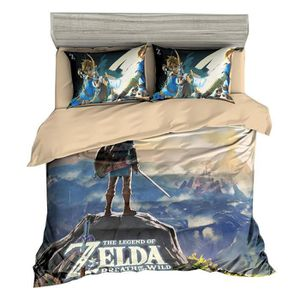 HOUSSE DE COUETTE ET TAIES The Legend of Zelda Parure de lit 3 pièces de Marq