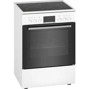 CUISINIÈRE - PIANO Bosch - cuisinière électrique 66l 4 feux blanc - h