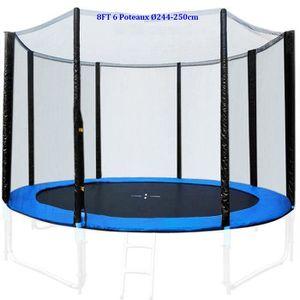 filet de securite pour trampoline 244 achat vente jeux et jouets pas chers. Black Bedroom Furniture Sets. Home Design Ideas