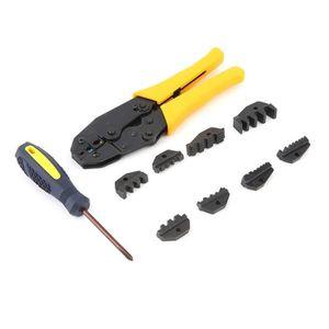 370df21356fe6a Pince à sertir 5 en 1, Pince Électricien, Pince à cliquet, Outil de sertissage  Cosses