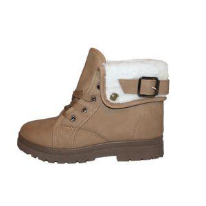 Chaussures fourrées boots femme chaussure de chasse pour femme chaussures de marque Automne et hiver Garder au dssx012noir36 WuA6fK53fM