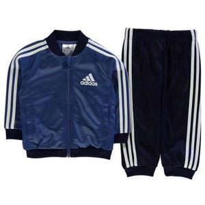 SURVÊTEMENT Jogging Adidas Bébé Bleu Marine et Blanc