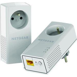 COURANT PORTEUR - CPL NETGEAR Pack de 2 adaptateurs CPL 2000 Mbit/s- 2 p