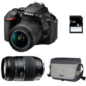 APPAREIL PHOTO RÉFLEX NIKON D5600 + AF-P DX 18-55mm 3,5-5,6G VR + TAMRON