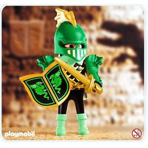 FIGURINE - PERSONNAGE Playmobil 4586 Les chevaliers Combattant dragon