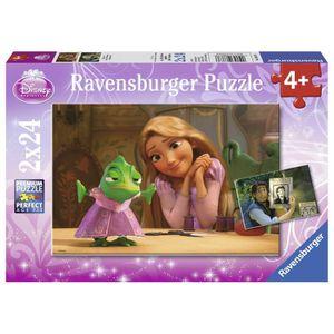 PUZZLE RAIPONCE Puzzle 2x24 pcs - Disney