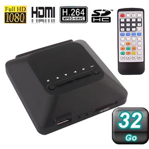 LECTEUR MULTIMÉDIA Passerelle multimédia FULL HD 1080P HDMI 32Go