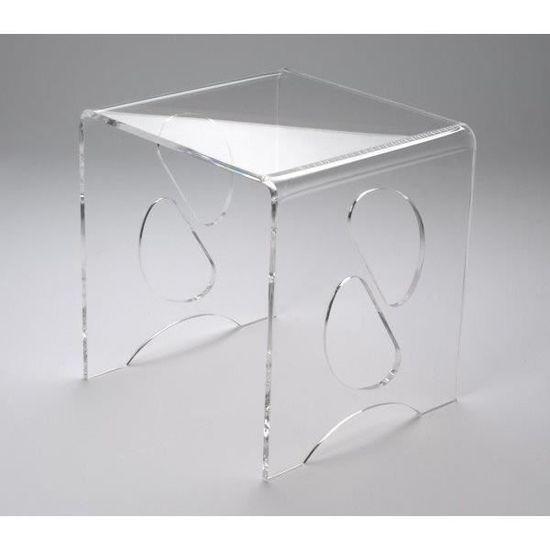 tout neuf cc01b e11de table basse verre acrylique table basse de salon moderne 431