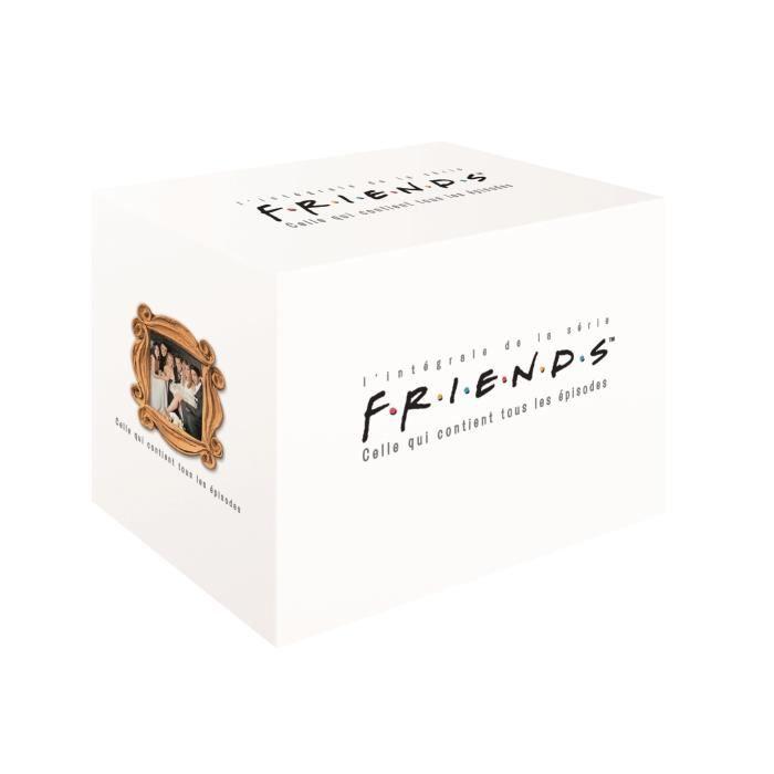 DVD SÉRIE DVD Coffret Friends - L'intégrale - Saisons 1 à 10