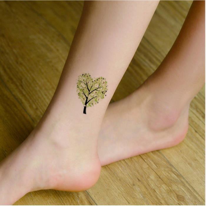 Tatouage Temporaire Ephemere Realiste Motif Amour Nature Achat