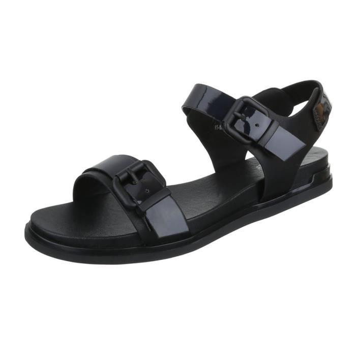 femme sandale chaussure chaussures d'été chaussures de plage confortablenoir 4nNs9h5q