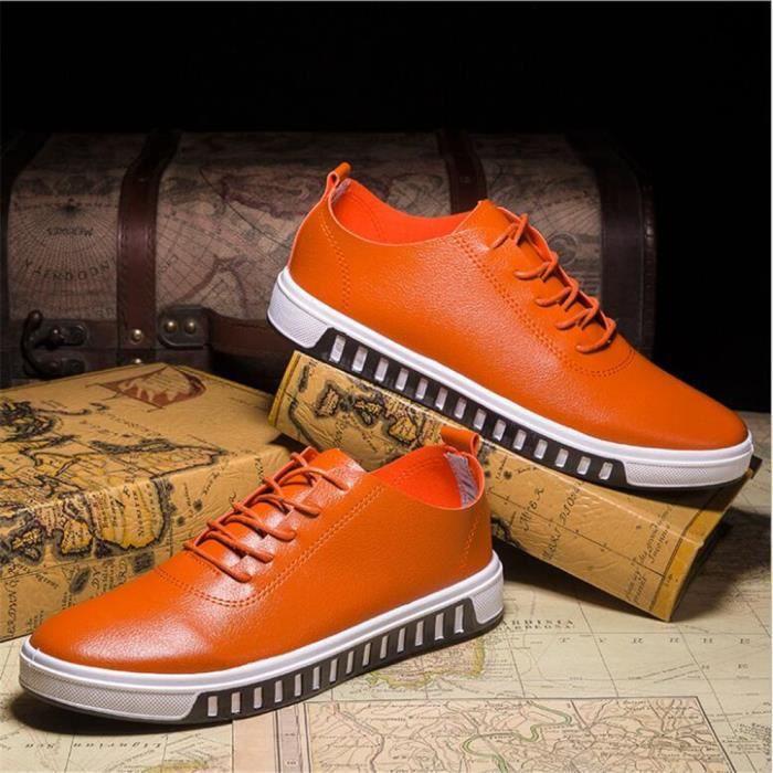 hommes Sneaker Durable de plein air Meilleure Qualité Chaussures De Marque De Luxe Sneakers à la mode Grande Taille 39-44 RSi2s3AQbp
