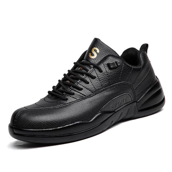 Baskets Homme Chaussure été et hiver Jogging Sport léger Respirant Chaussures BJXG-XZ221Noir39
