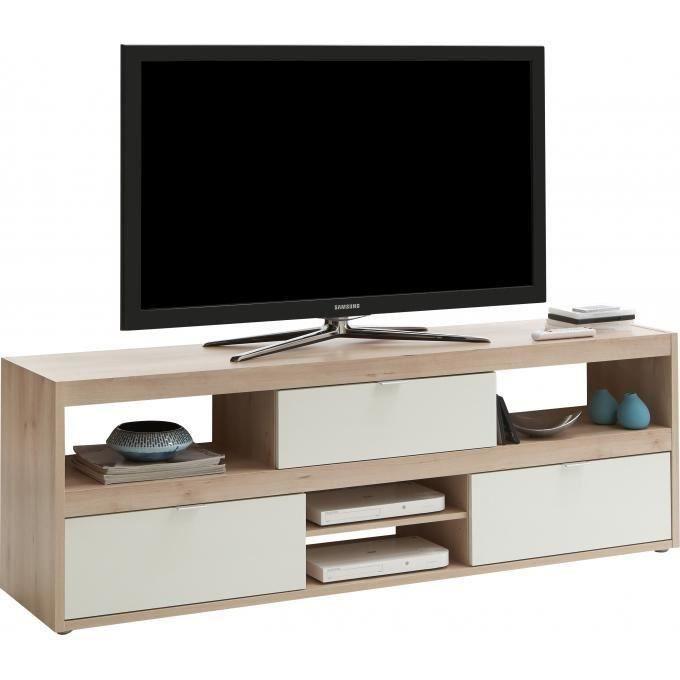 meuble tv hetre clair hoze home. Black Bedroom Furniture Sets. Home Design Ideas