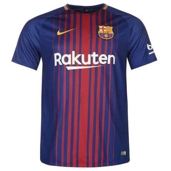 Nouveau Maillot Nike Homme Messi FC Barcelone Home Flockage Officiel Messi Homme 280972