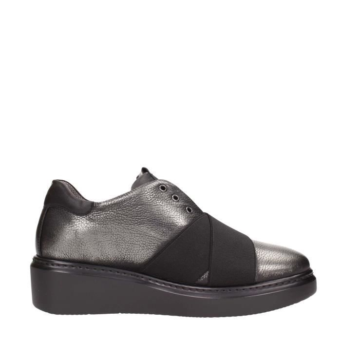 Melluso Sneakers Femme Anthracite, 36