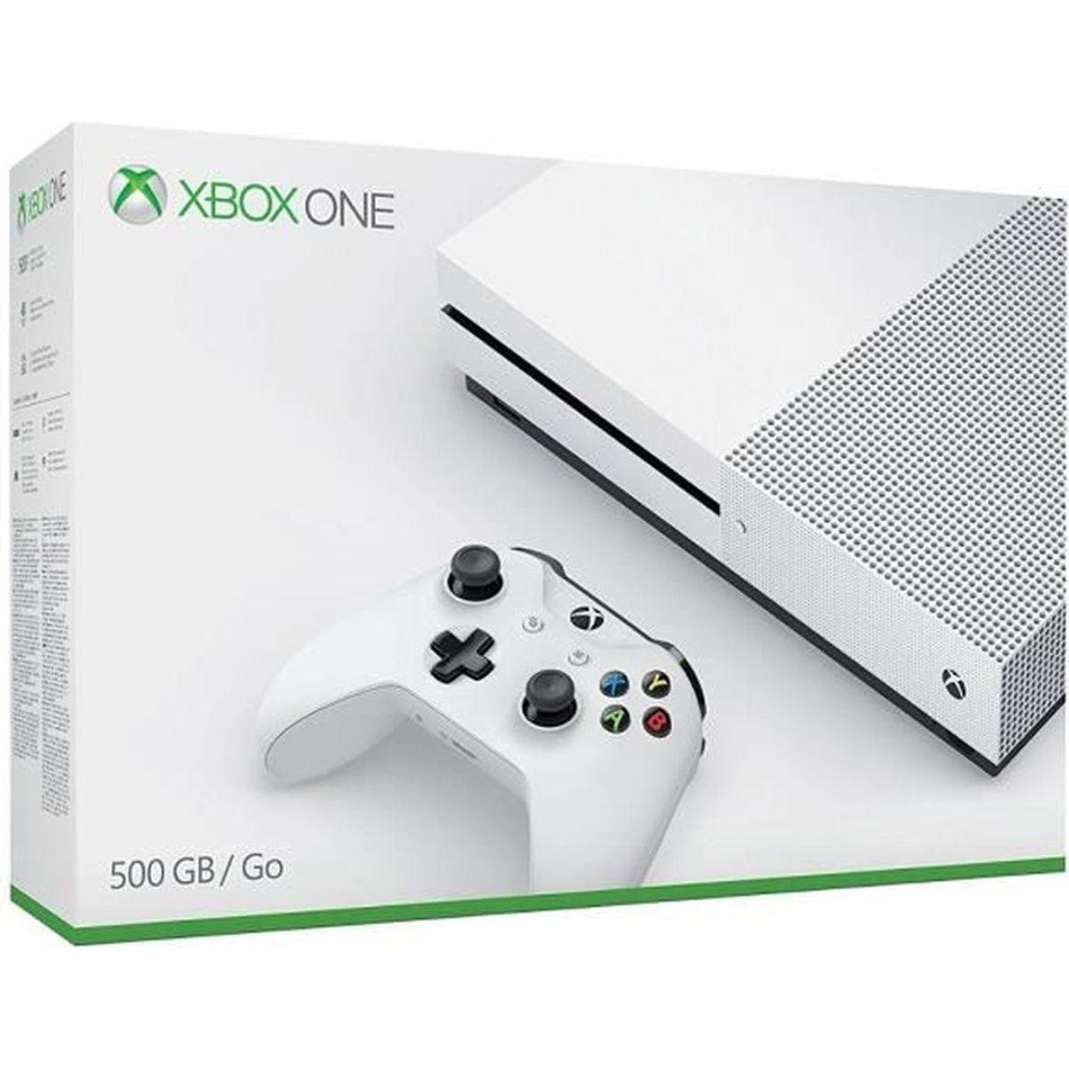 CONSOLE XBOX ONE NOUV. Xbox One S 500 Go