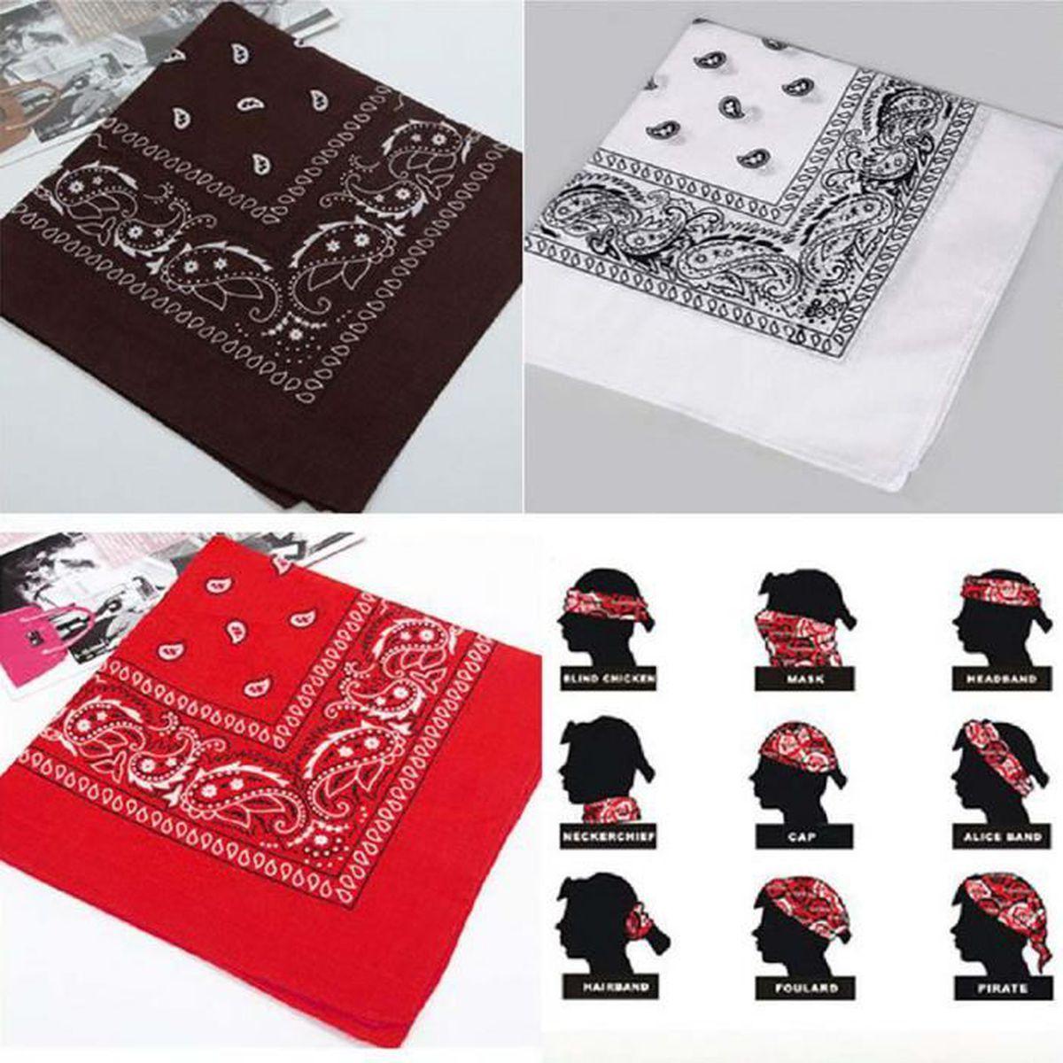 b4dea6380fa Lot bandanas rouge - Achat   Vente jeux et jouets pas chers