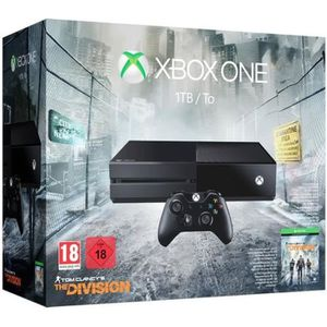 CONSOLE XBOX ONE Xbox One 1To + The Division