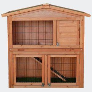 CLAPIER Cage Clapier Cabane à lapin RUBY