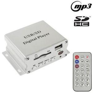 AUTORADIO Lecteur MP3 automobile (SD-USB) avec télécommande