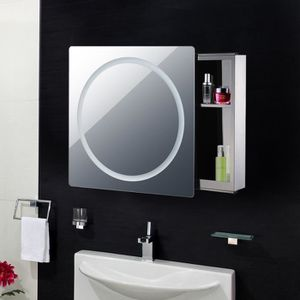 Armoire miroir salle de bain achat vente armoire for Armoire de toilette miroir lumineux