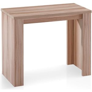 CONSOLE EXTENSIBLE Table Console Brookline Chêne clair