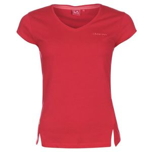 T-SHIRT La Gear Femmes Col V T-Shirt Manches Courtes Sport