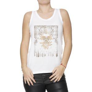 6eb38e4d7e621 Débardeur Débardeur - La Grande Femme T-Shirt Blanc Taille M