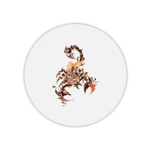 TAPIS DE SOURIS Tapis de souris rond scorpion arabesque