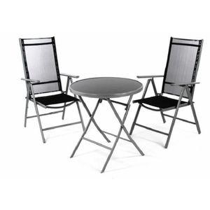 Petite table ronde de jardin achat vente pas cher for Petite table de jardin pas cher