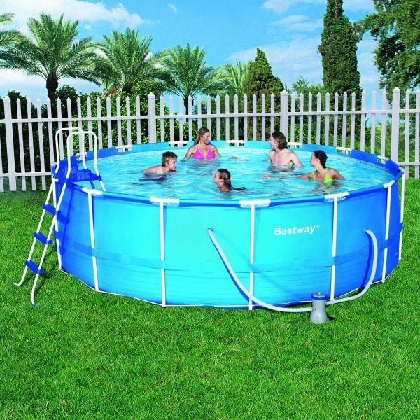 piscine tubulaire bestway 457x122